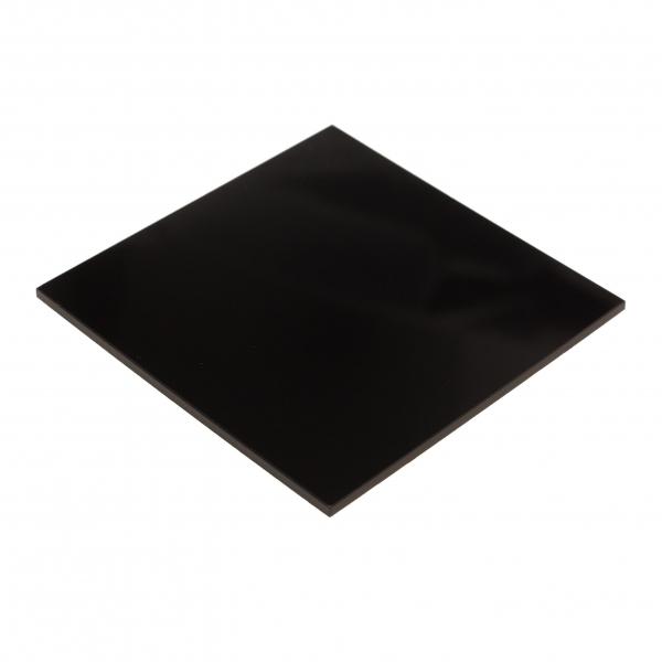 plexiglas negru 0
