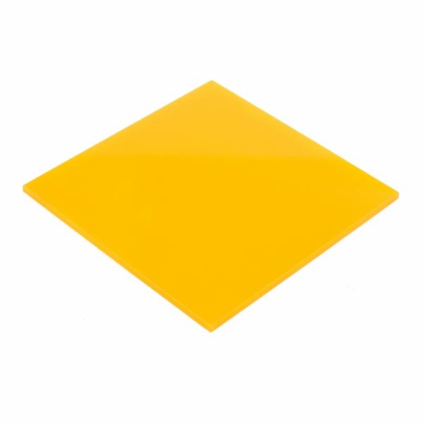 Plexiglas Galben 3 mm