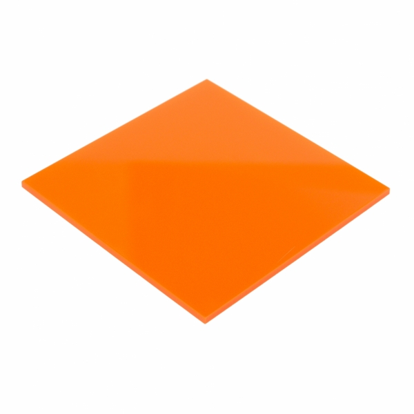 Plexiglas Portocaliu 3 mm