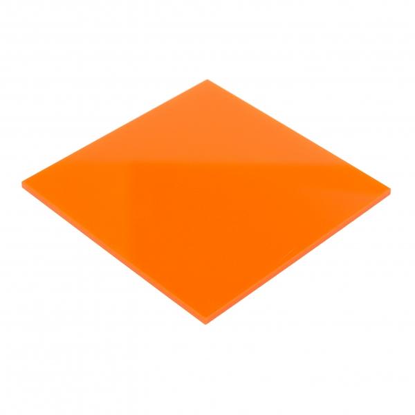 plaexiglas portocaliu